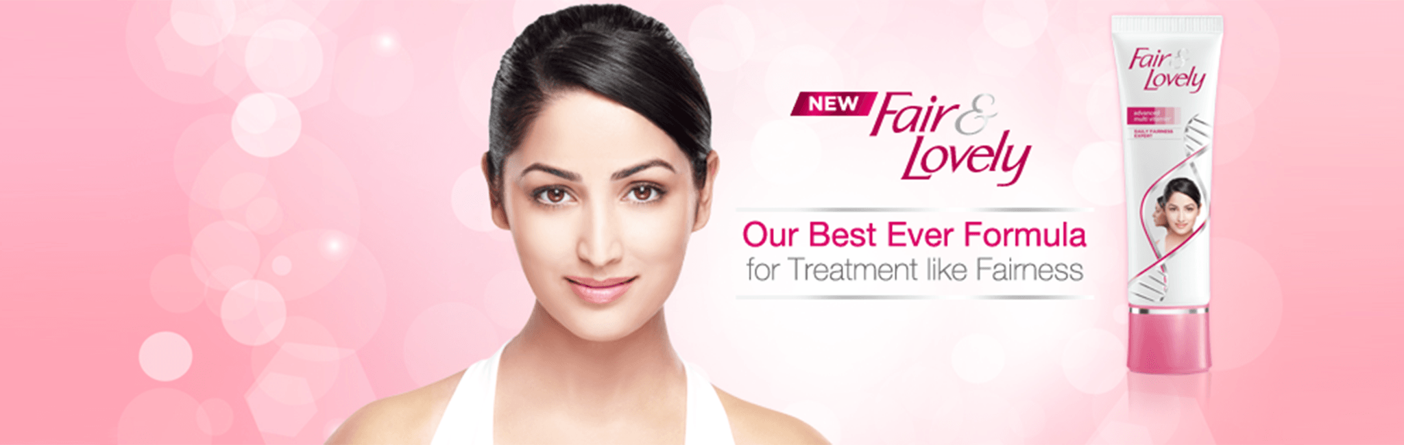 Fair & Lovely Banner